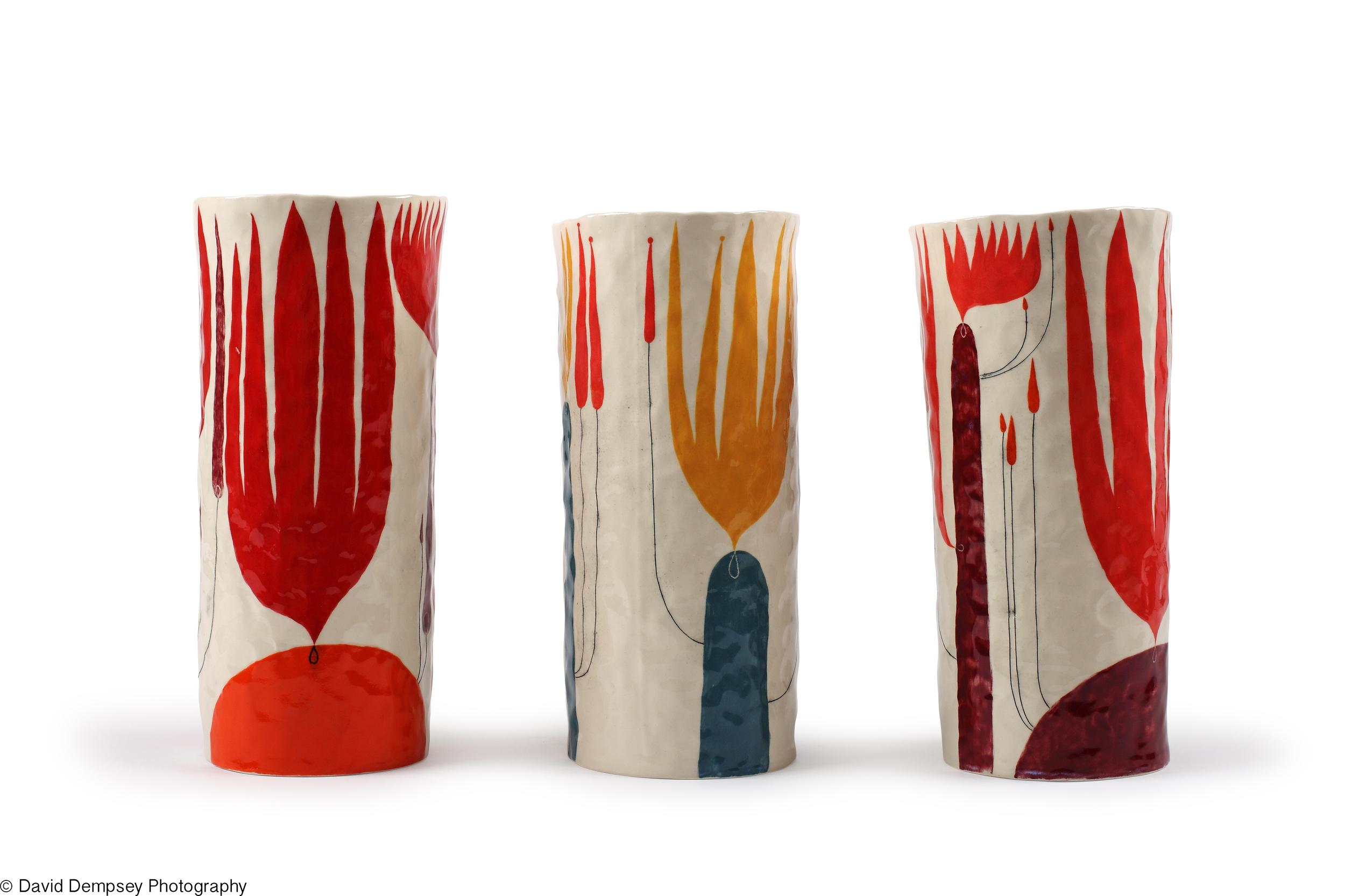 Straight vases - Andrew Ludick