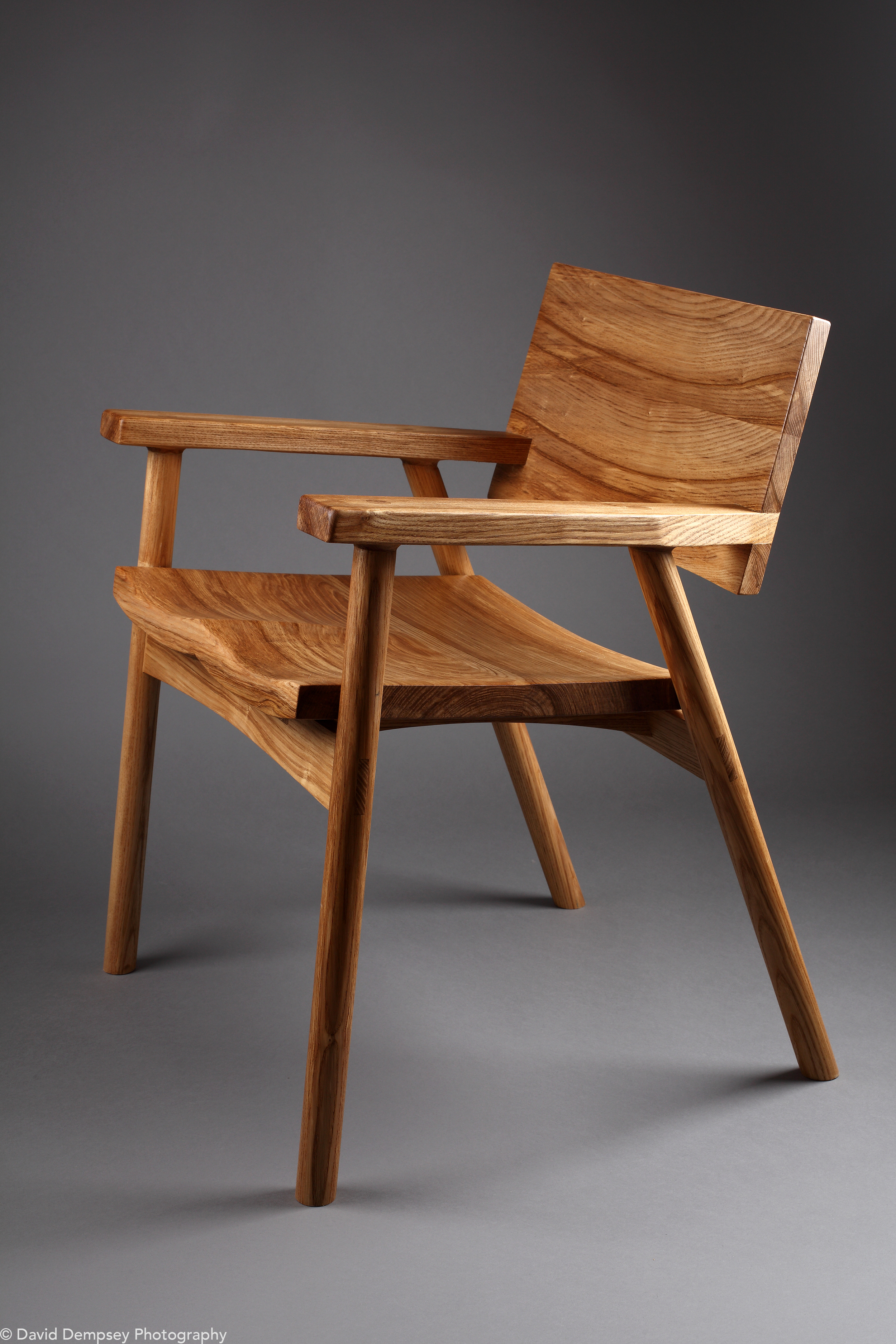 Chair in olive ash - Tommy Carew