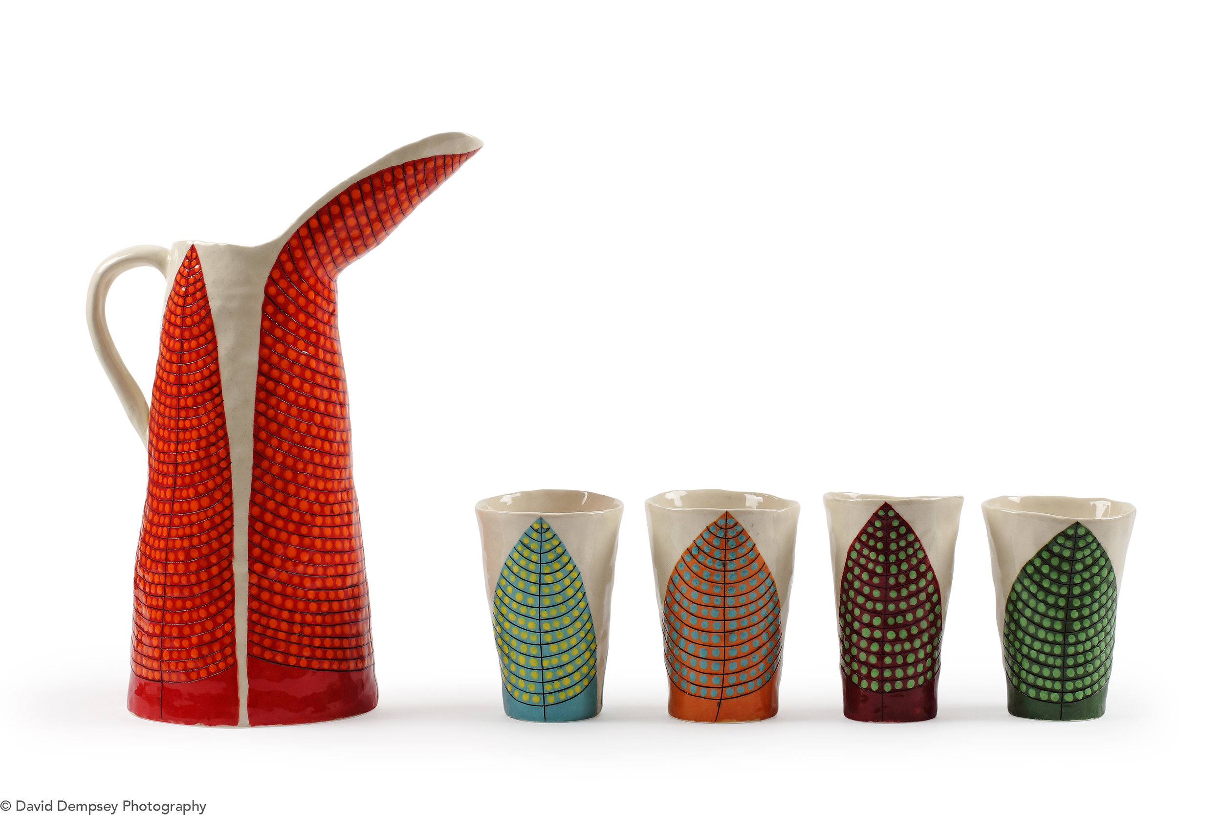 Jug & cups by Andrew Ludick