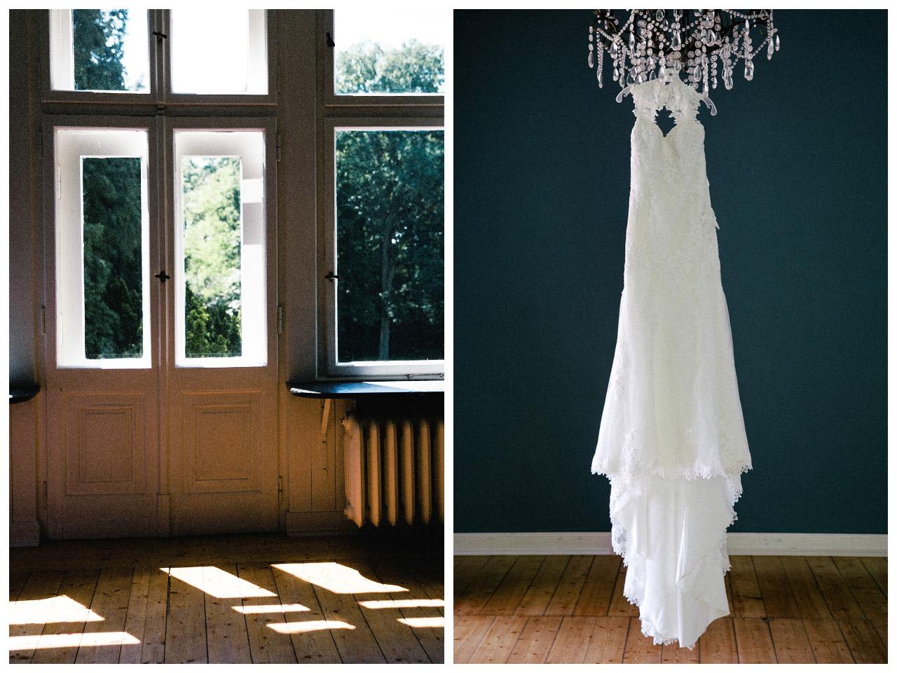 Hochzeit-Brautkleid-Vintage