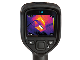 Thermal Imaging camera to help locate hot spots, cold spots, and possible moisture.