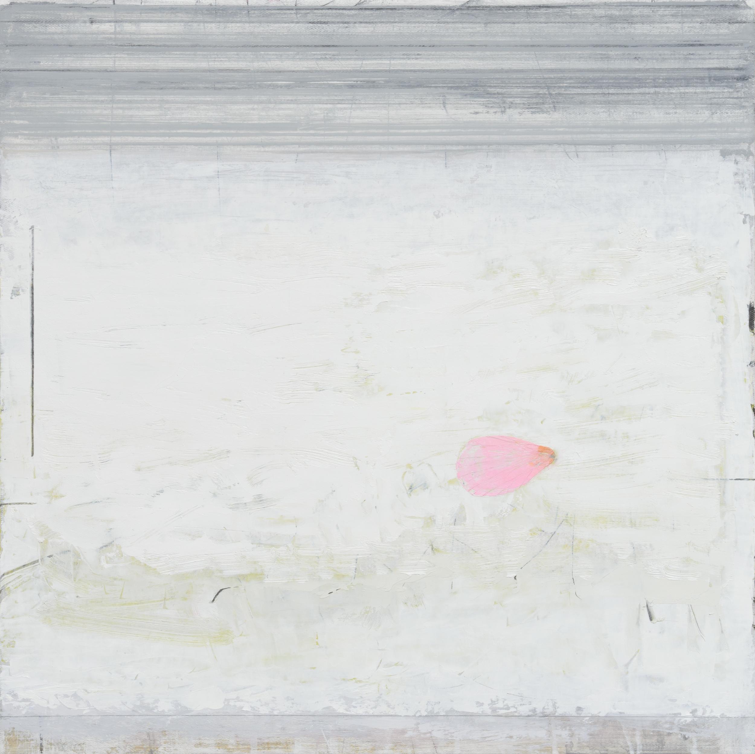newborn. oil & graphite on canvas  50 x 50 cm
