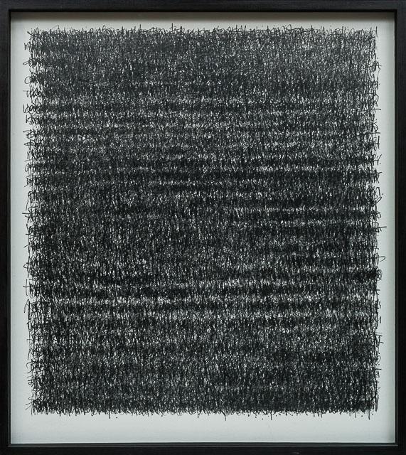 A Poem, A love letter & A Prayer. graphite on canvas 100 x 120 cm