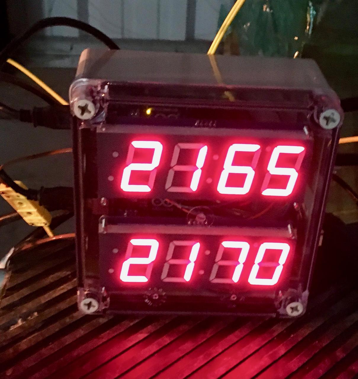 Dual Logging Omnitemp Pyrometer