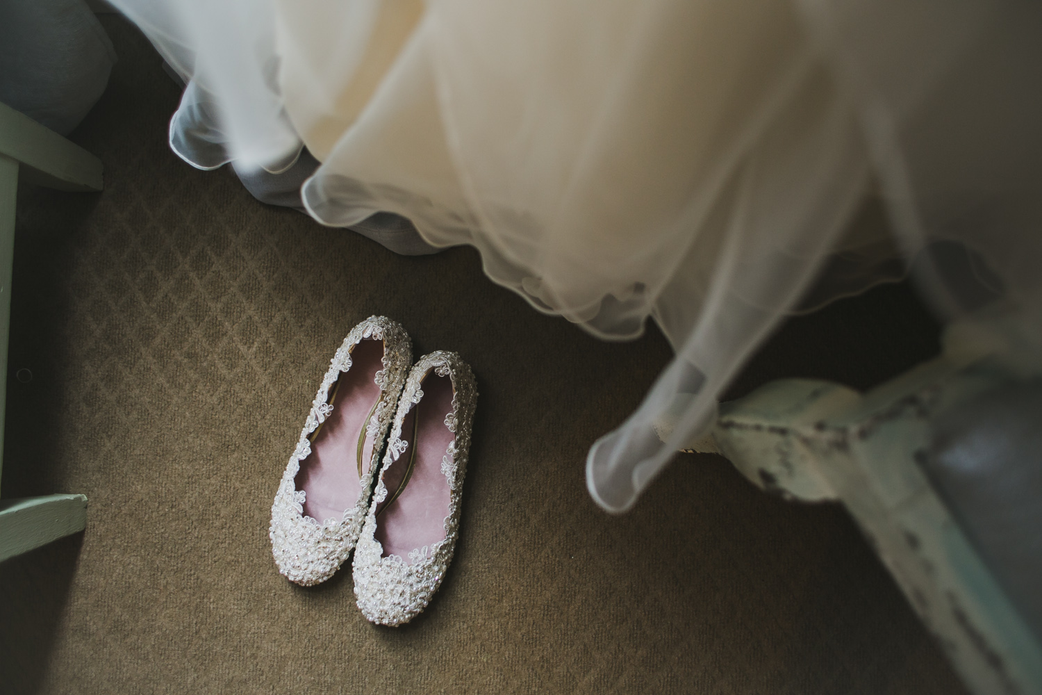 Bridal Shoes | Lisa Woods Photography