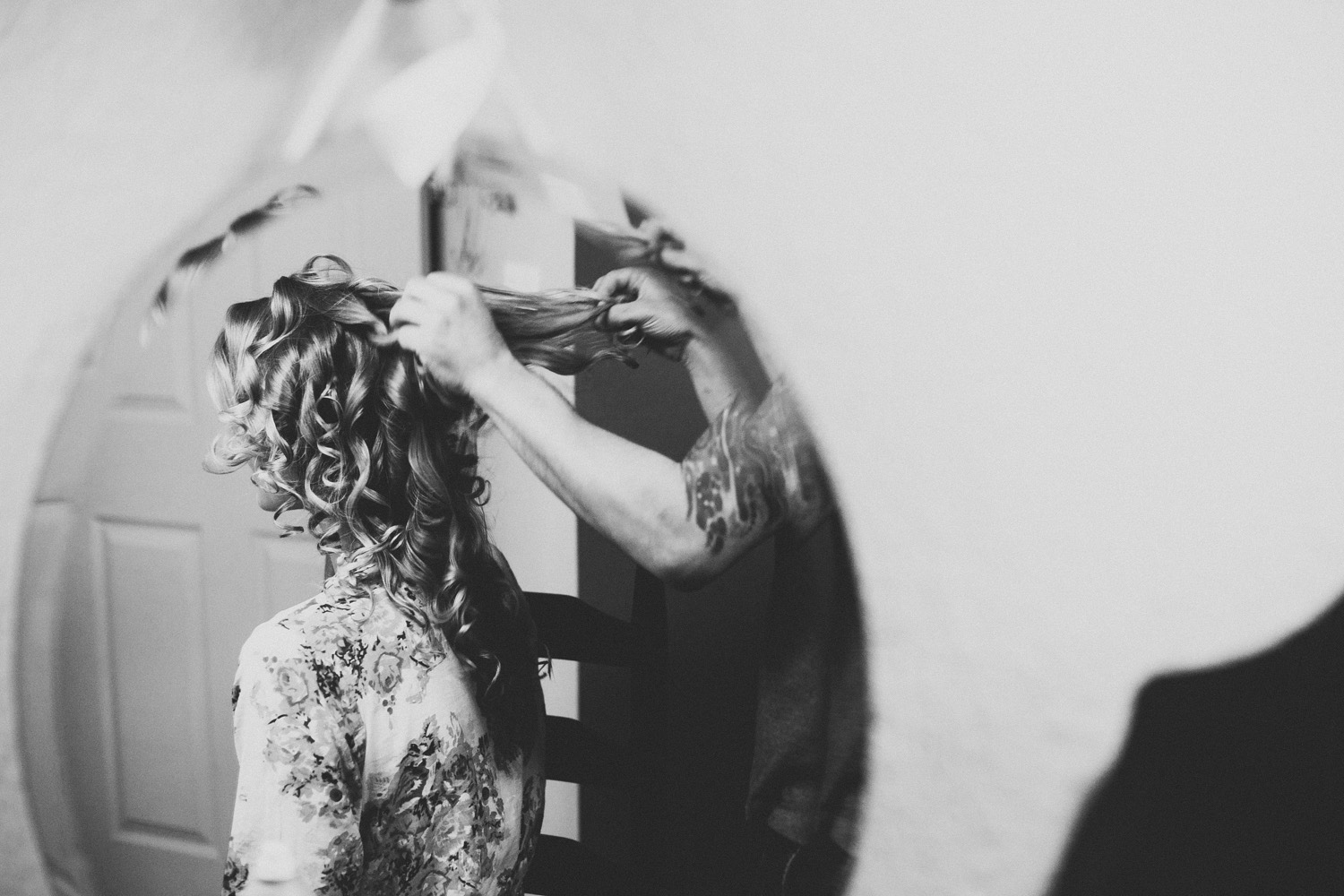 Bridal Hairstyling | Vista West Ranch | | Lisa Woods Photography
