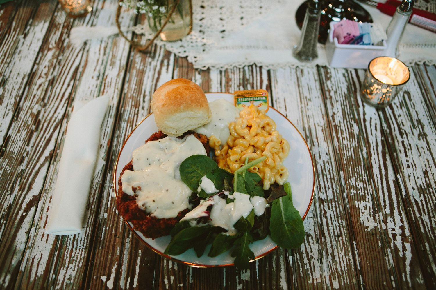 Country Homestyle Wedding Food at Vista West Ranch | Lisa Woods Photography