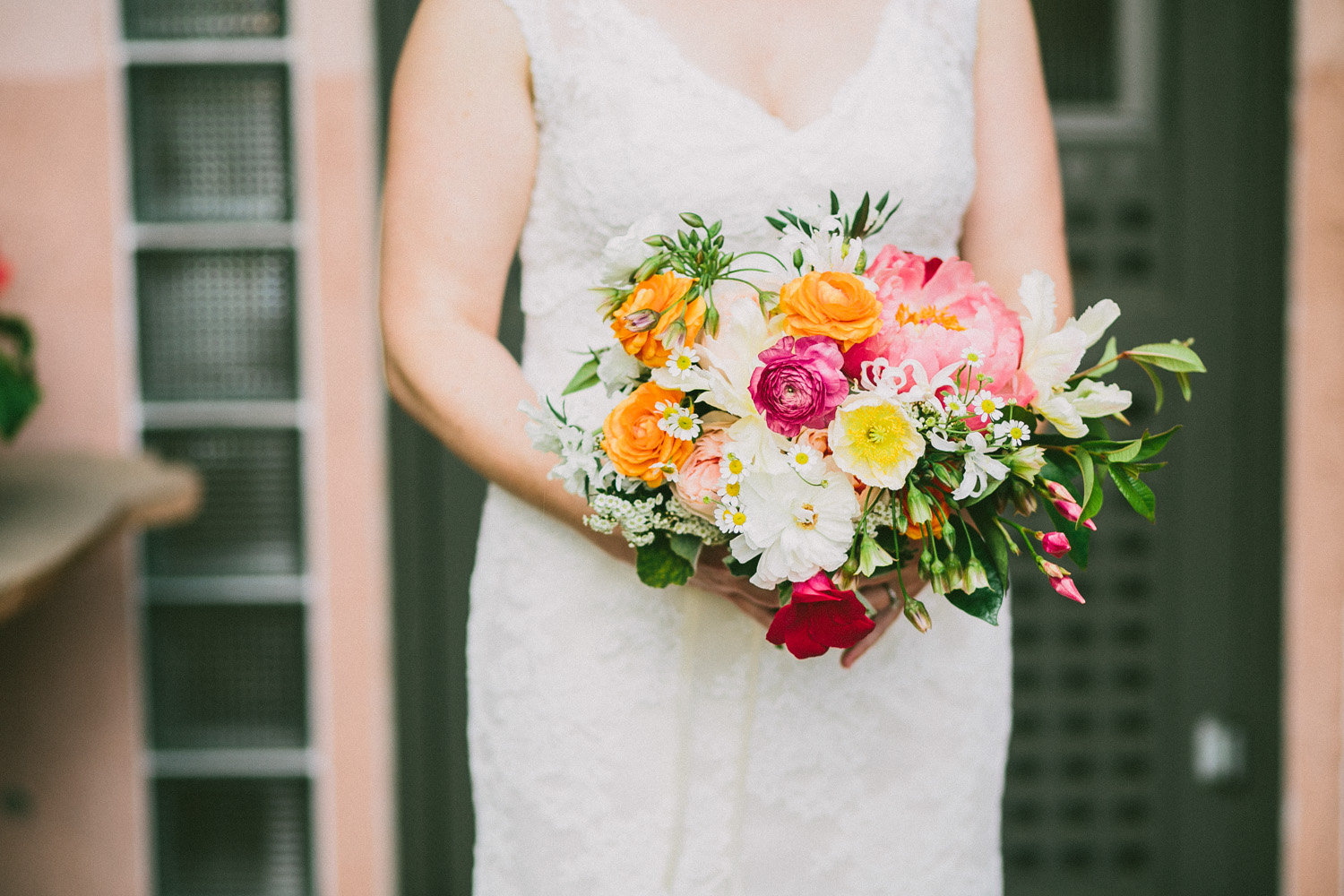 Wedding Bouquet   Home Ranch Wedding   Hill Country Texas   Lisa Woods Photography