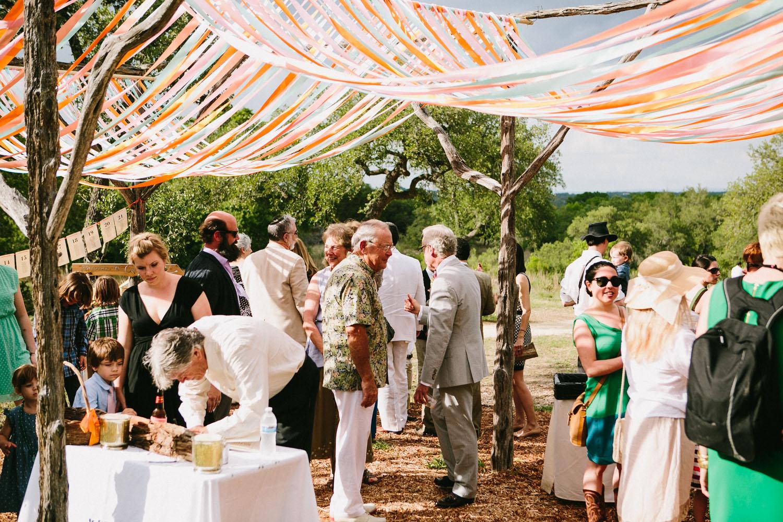 Outdoor Wedding Pergola Decoration   Home Ranch Wedding   Lisa Woods Photography