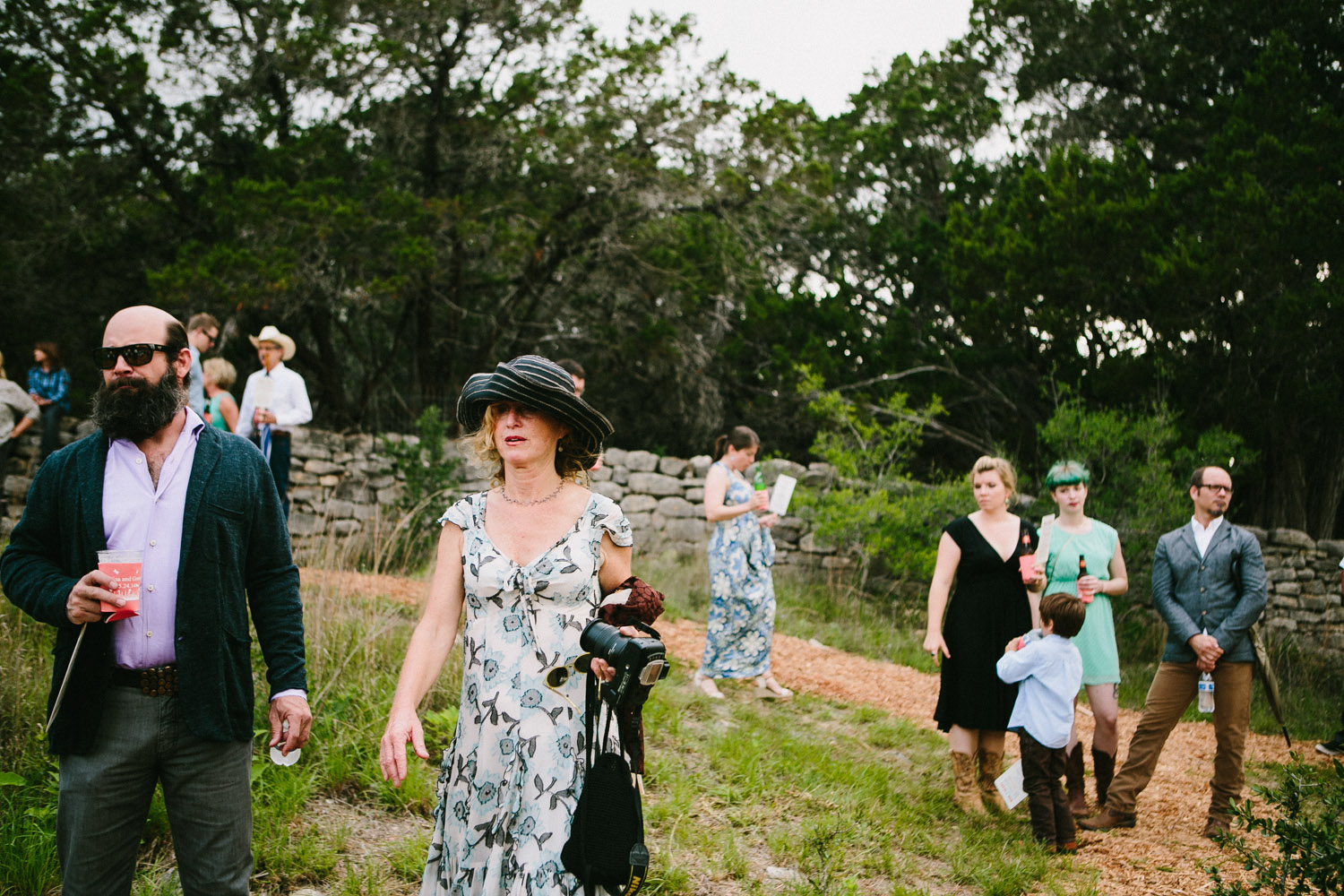 Home Ranch Wedding Guests   Hill Country of Texas   Lisa Woods Photography