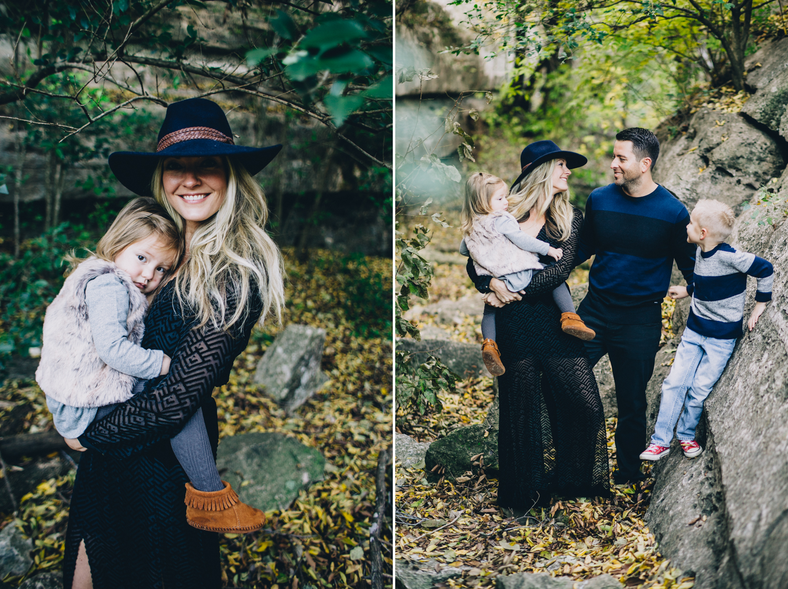 Family Portrait Session | Bull Creek Austin Texas | Lisa Woods Photography