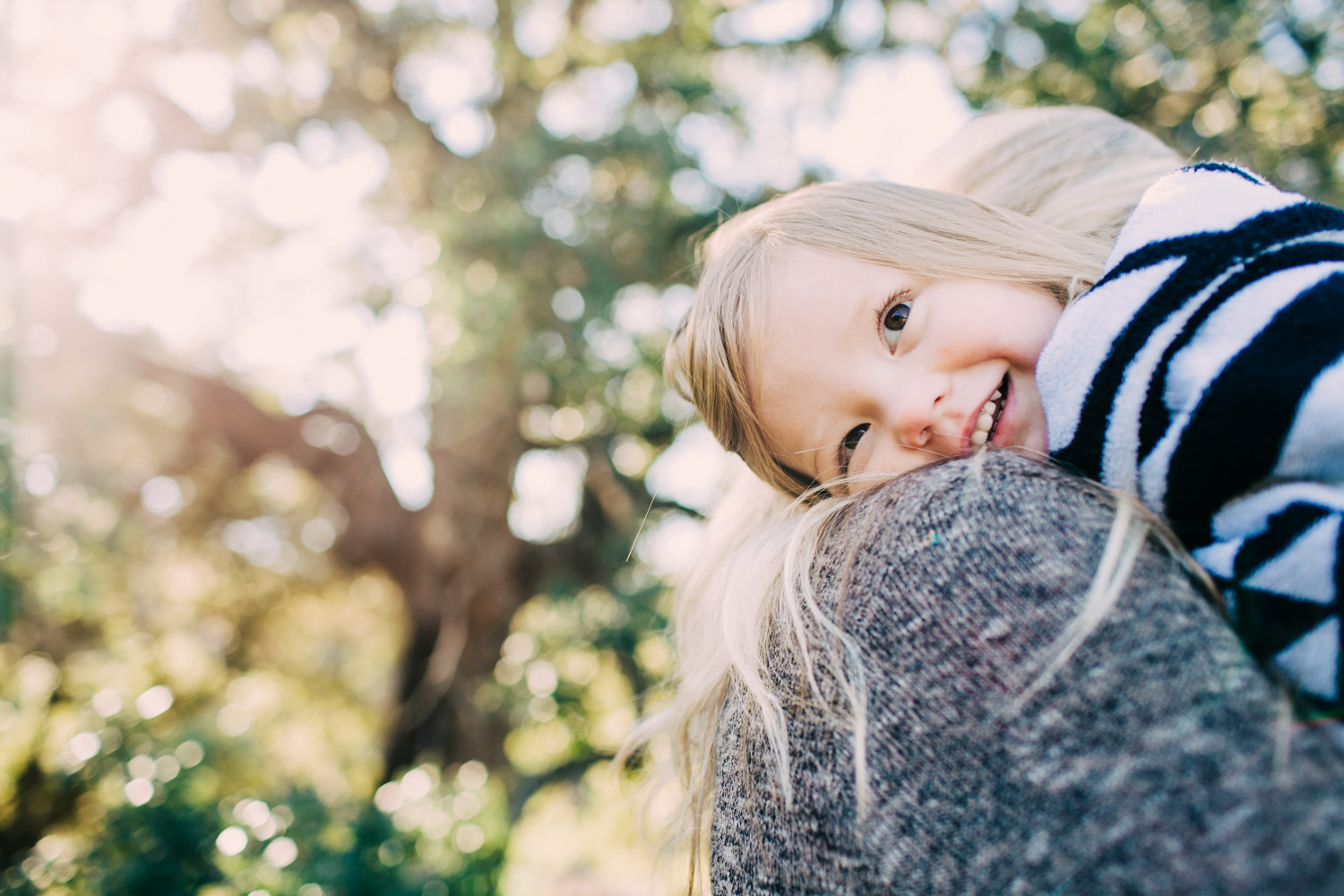 Happy Daughter | Austin Family Portraits | Lisa Woods Photography