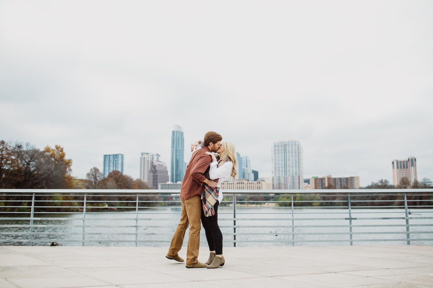 Downtown Boardwalk Austin Texas   Engagement Session   Lisa Woods Photography