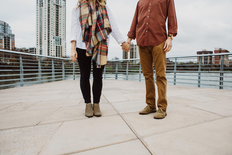 Engagement Session on Boardwalk   Lisa Woods Photography