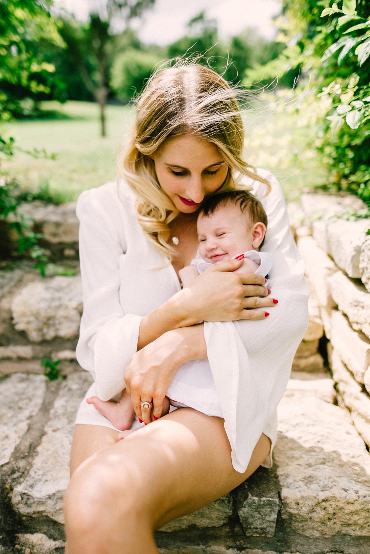 mom and bebe