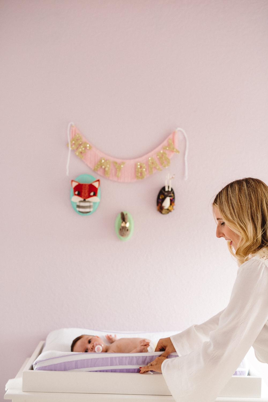 newborn nursery photo