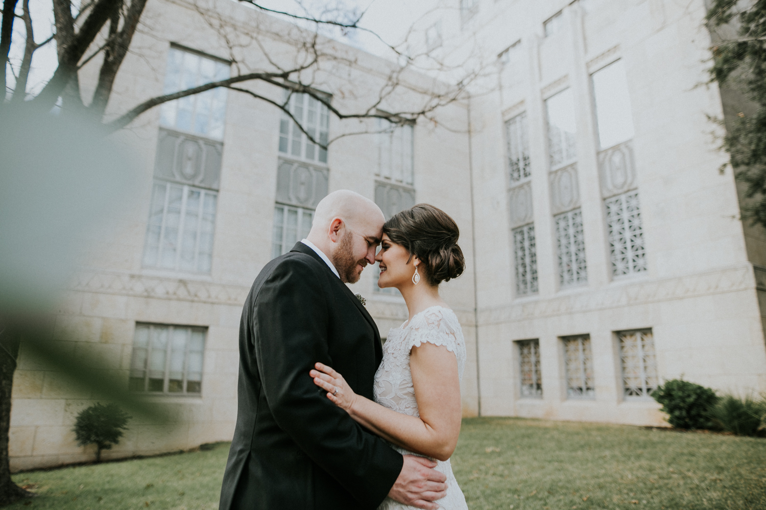 wedding at the austin courthouse