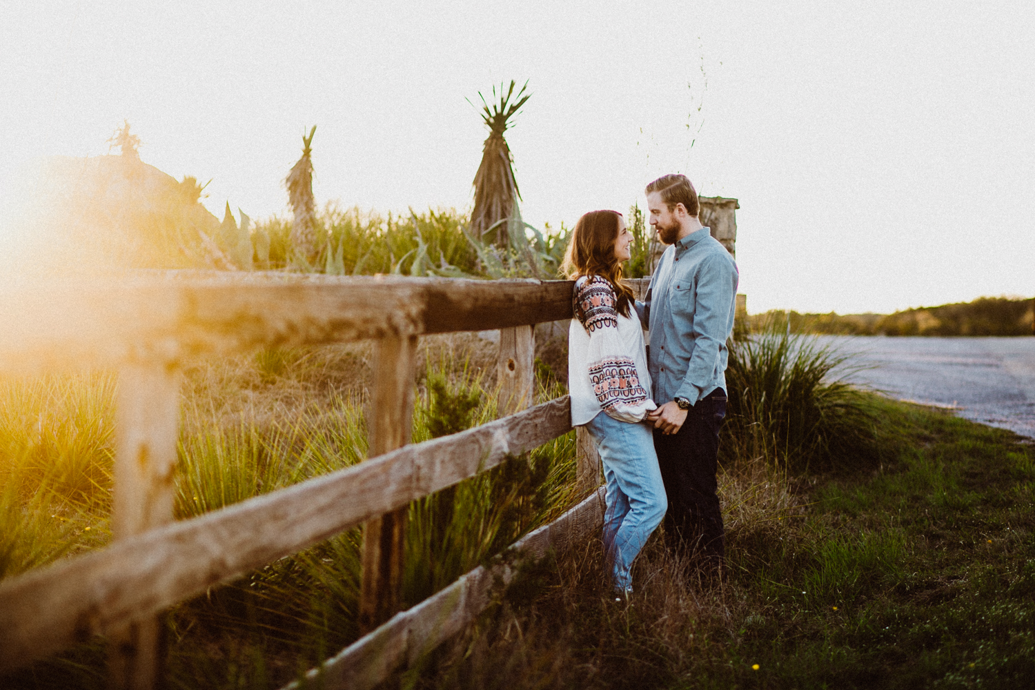 dripping springs engagement session