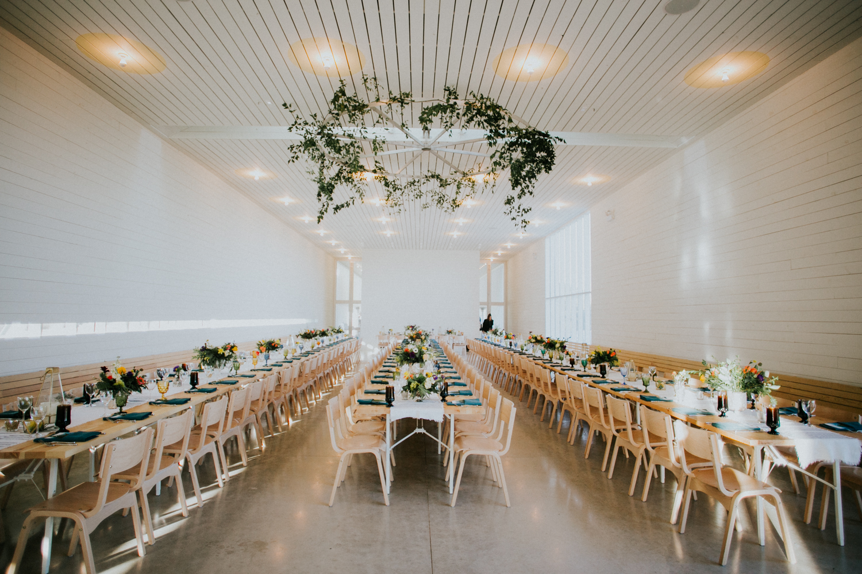 prospect house reception tables
