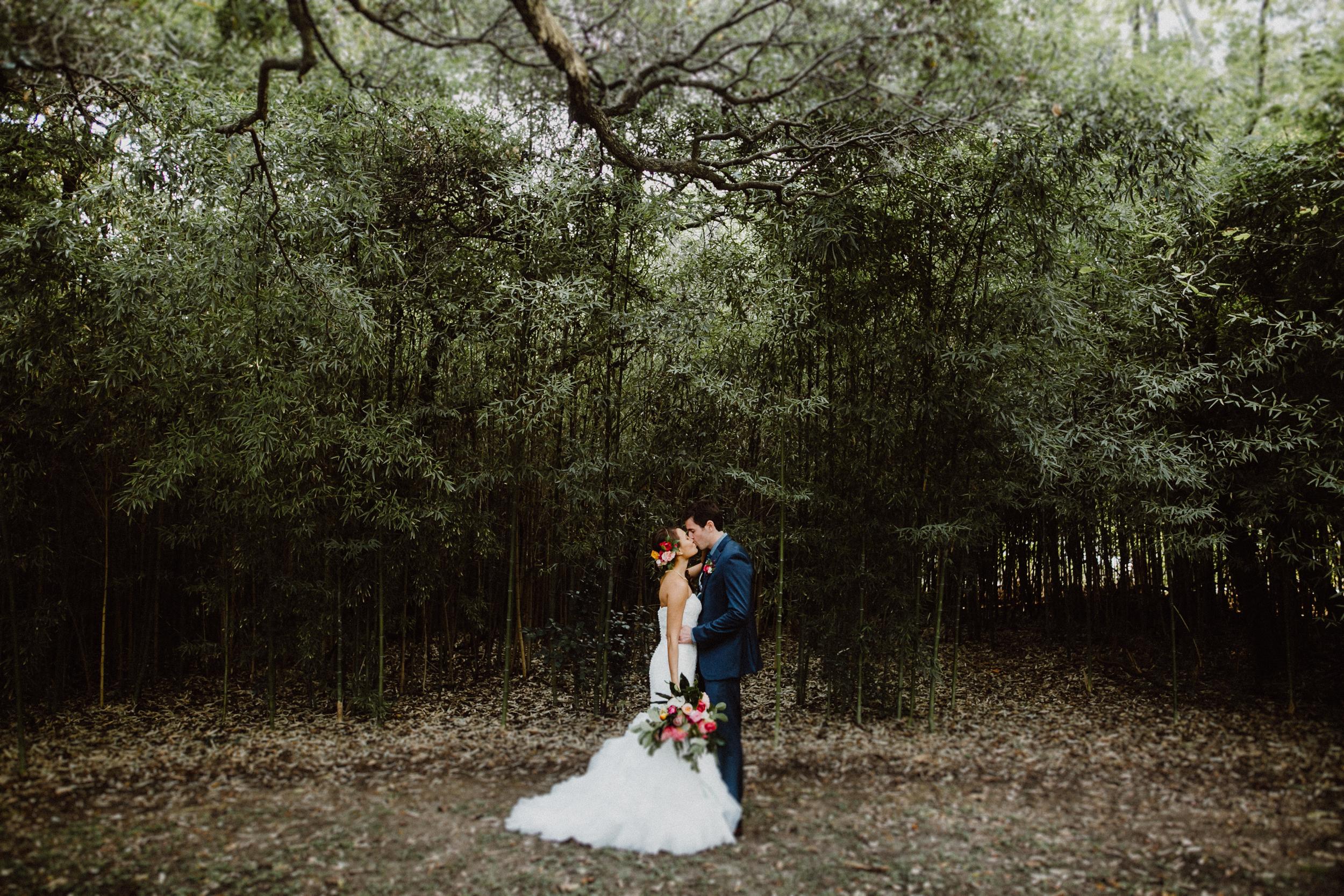 bride and groom at mercury hall