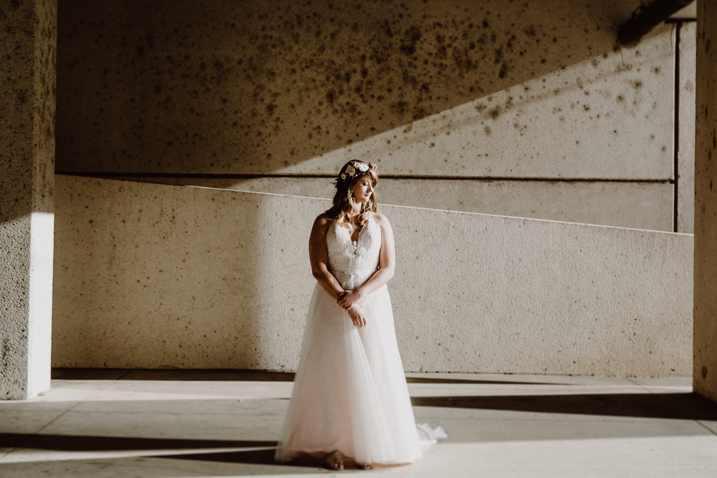 bride in downtown austin