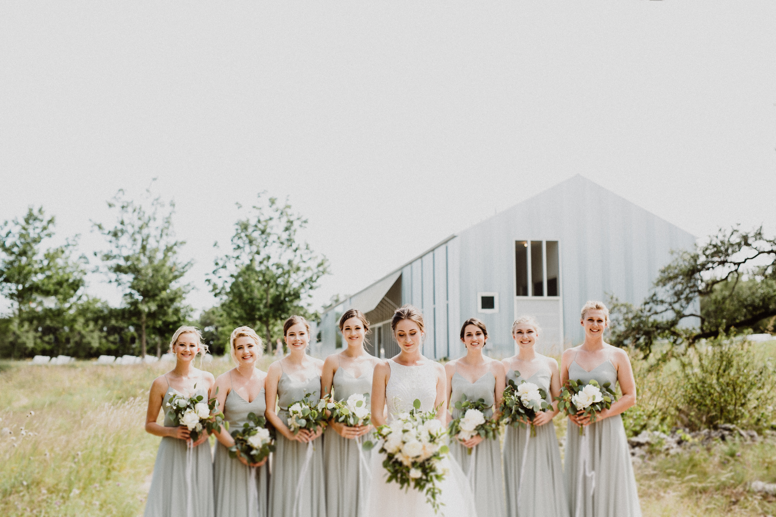 bridesmaids at prospect house