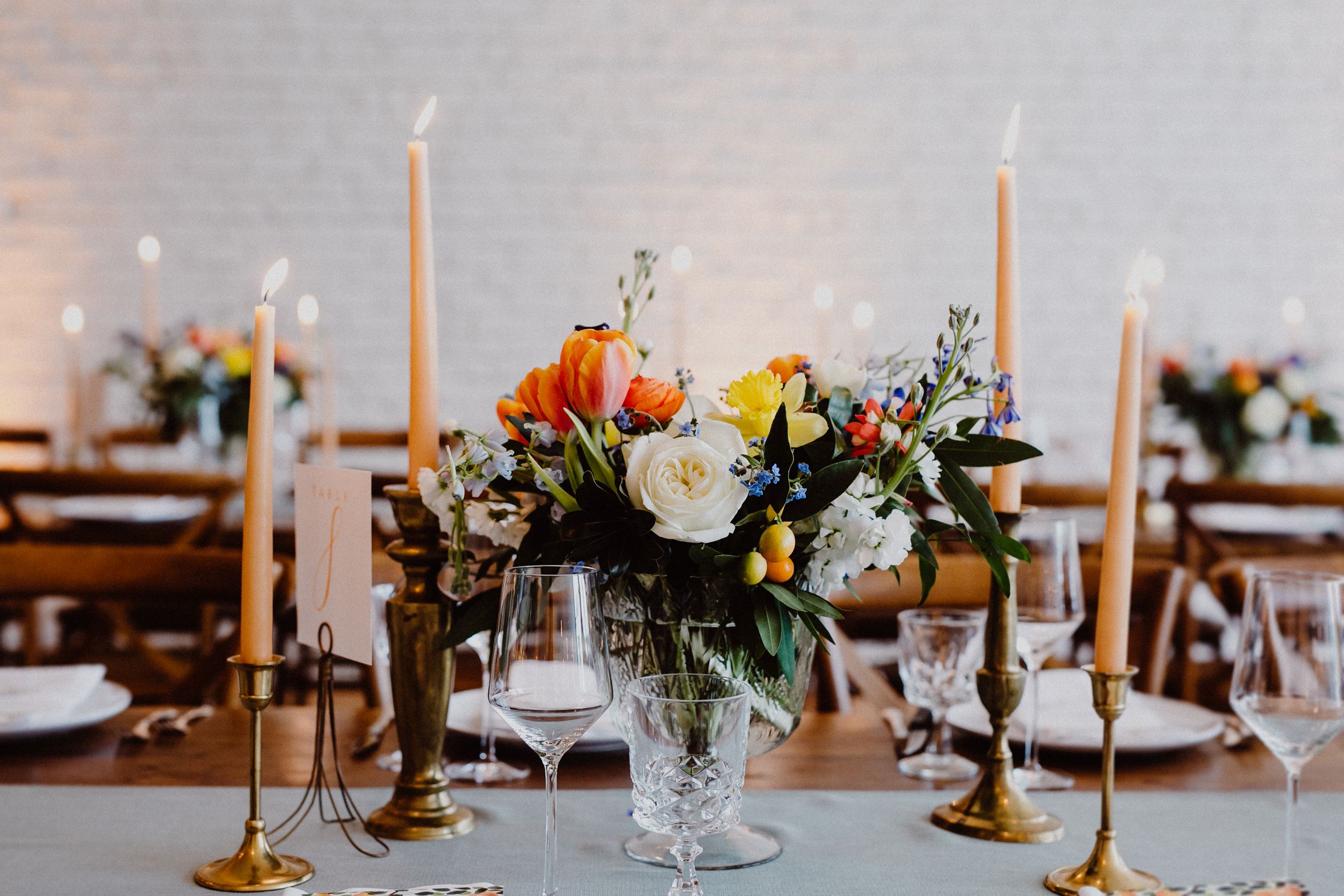 centerpiece florals at one eleven east