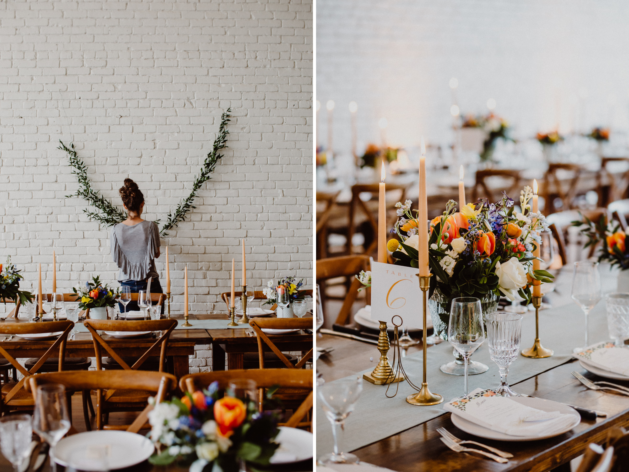 wedding details at one eleven east