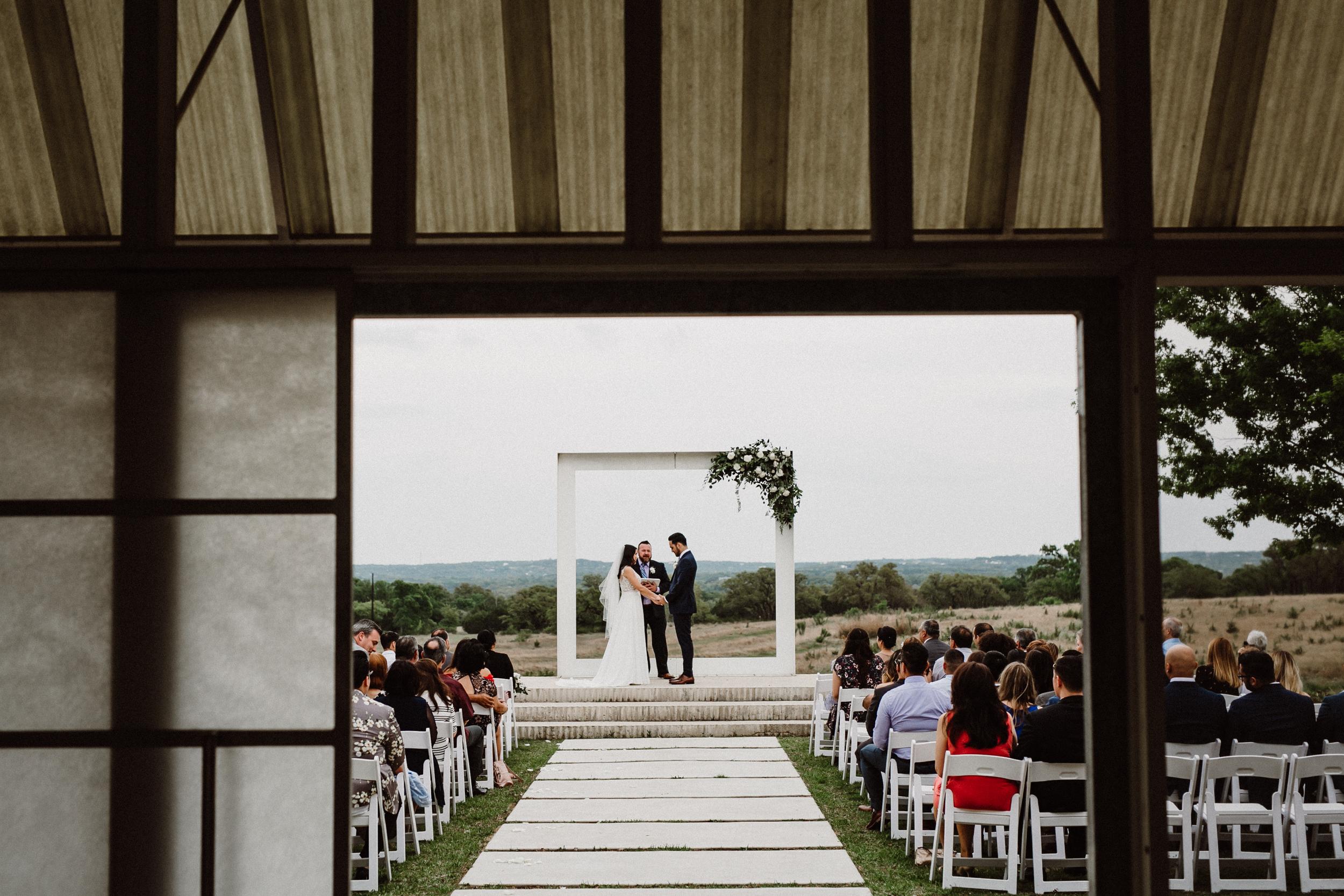 prospect house ceremony photo