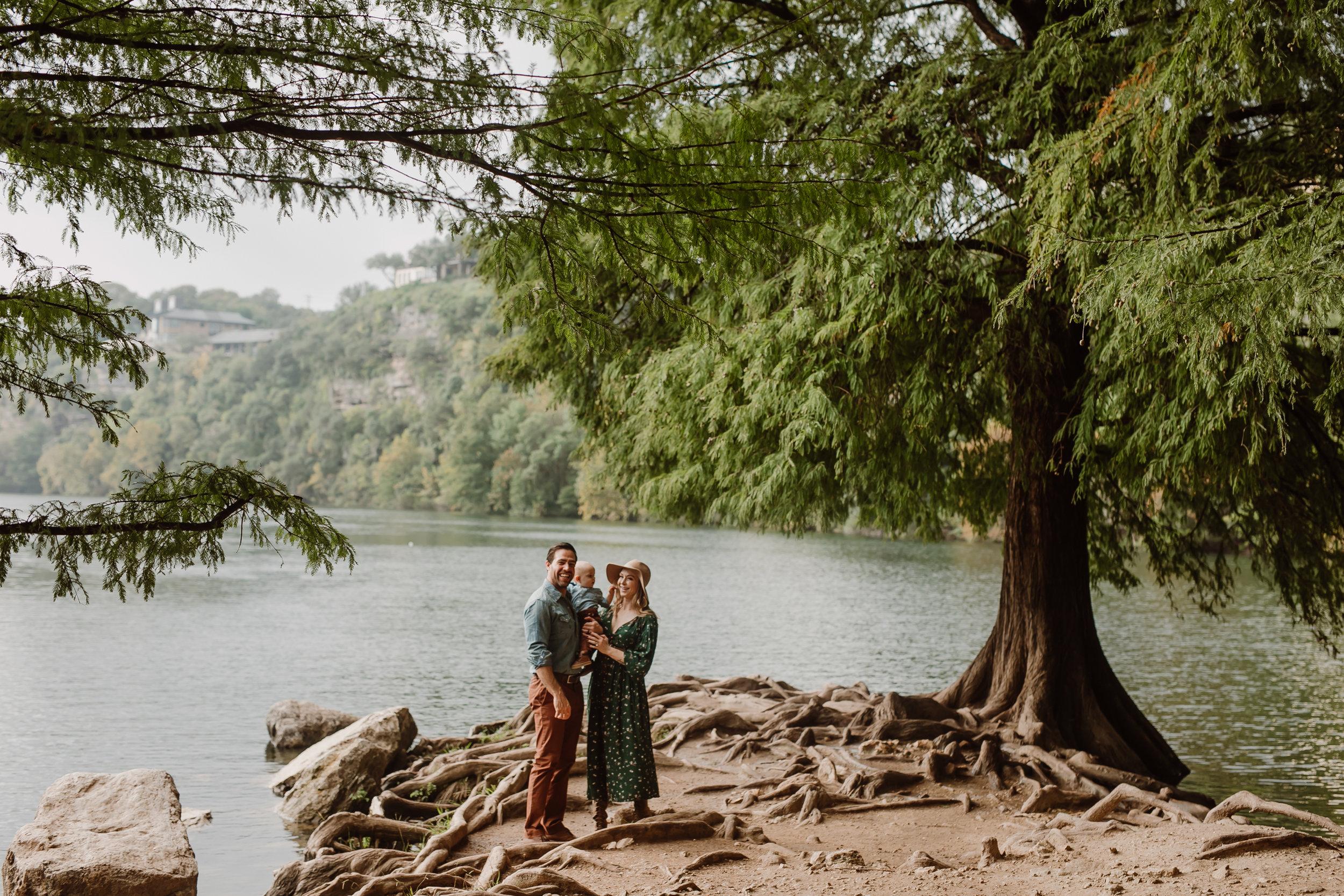 red bud isle family photos
