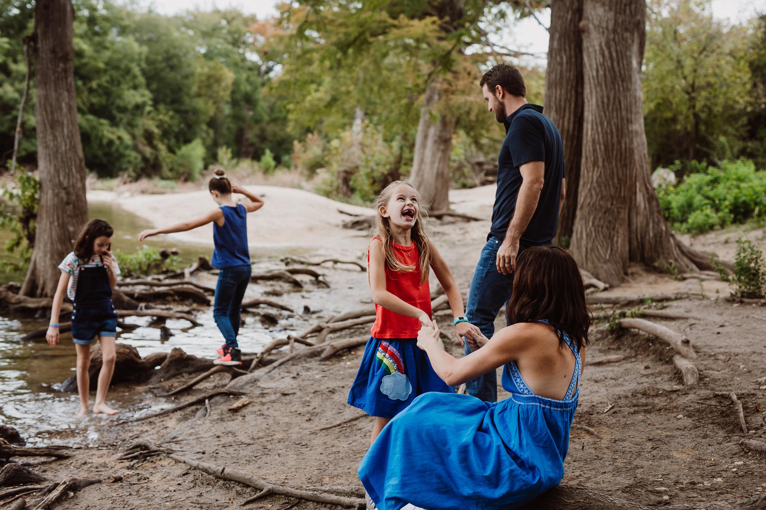 mckinney falls family session