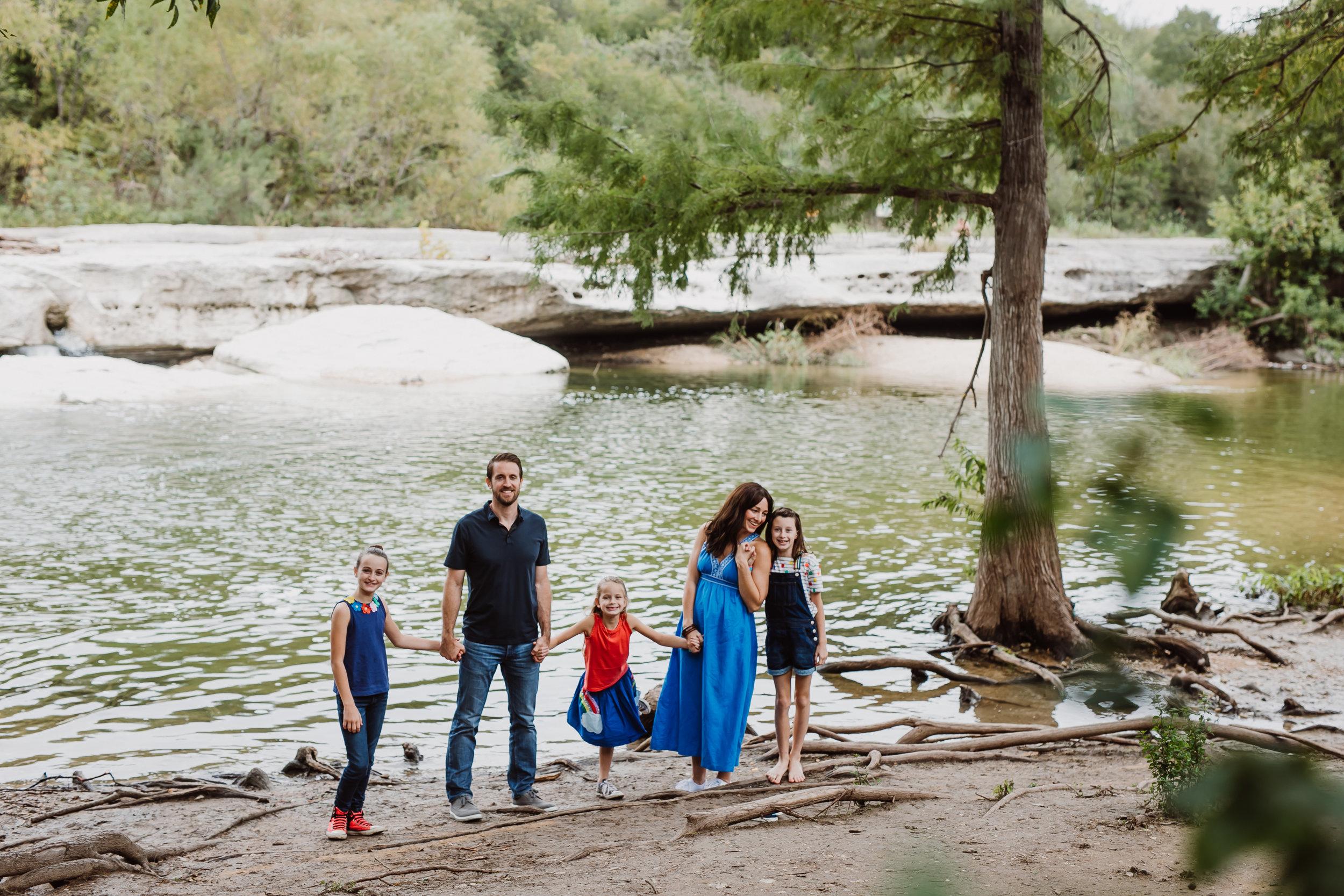 mckinney falls family photo