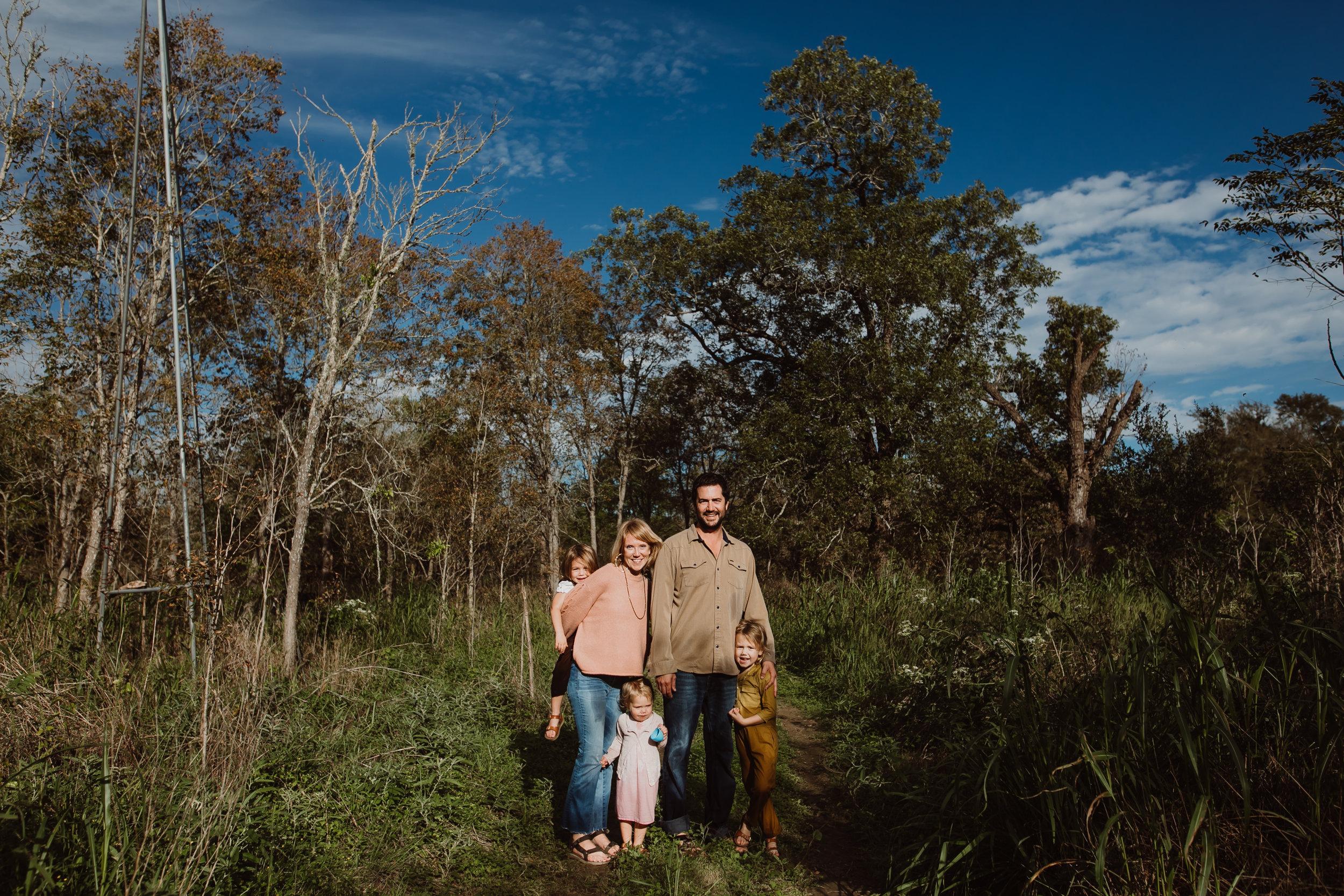 driftwood family photo shoot