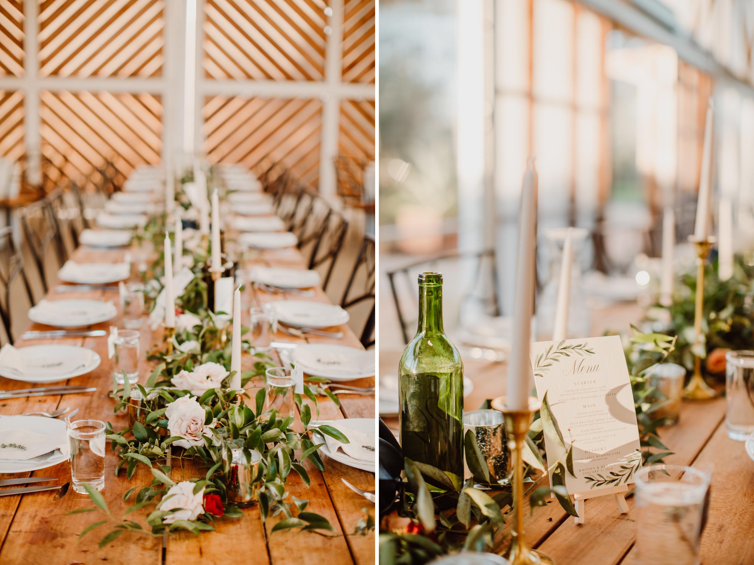 barr mansion wedding details
