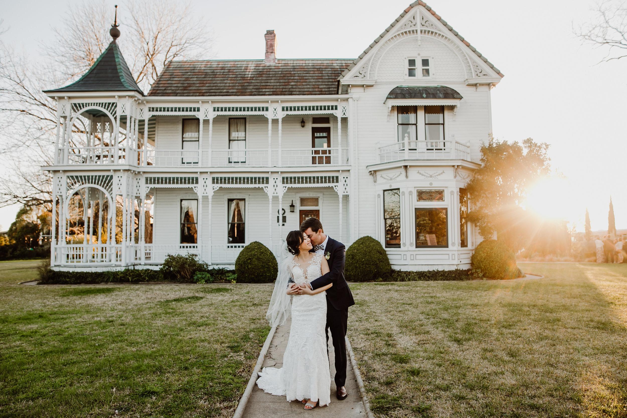 wedding at barr mansion