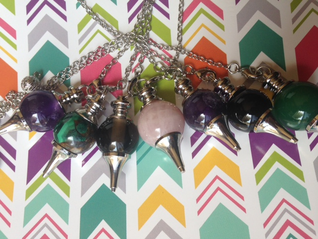 Sephoroton Pendulums for dowsing and divining