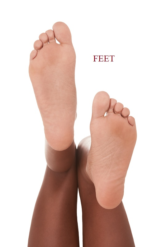 Energetically, feet are associated with grounding and basic survival needs. Chronic foot problems or repeated tripping and stumbling may indicate issues with money, career, home life, or the personal safety and security of your family or your self.