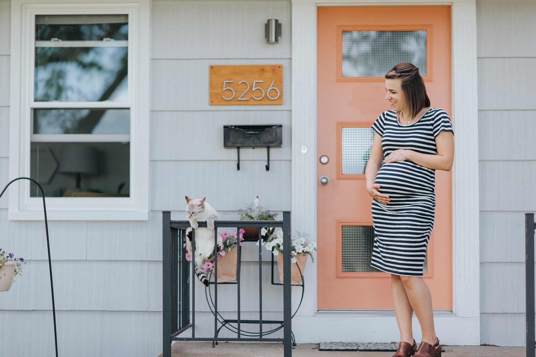 Milwaukee Home Maternity Session Baby S