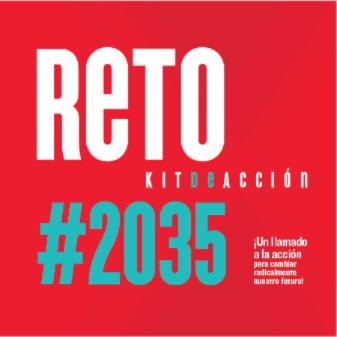Portada del Kit de acción para voluntarios del #Reto2035