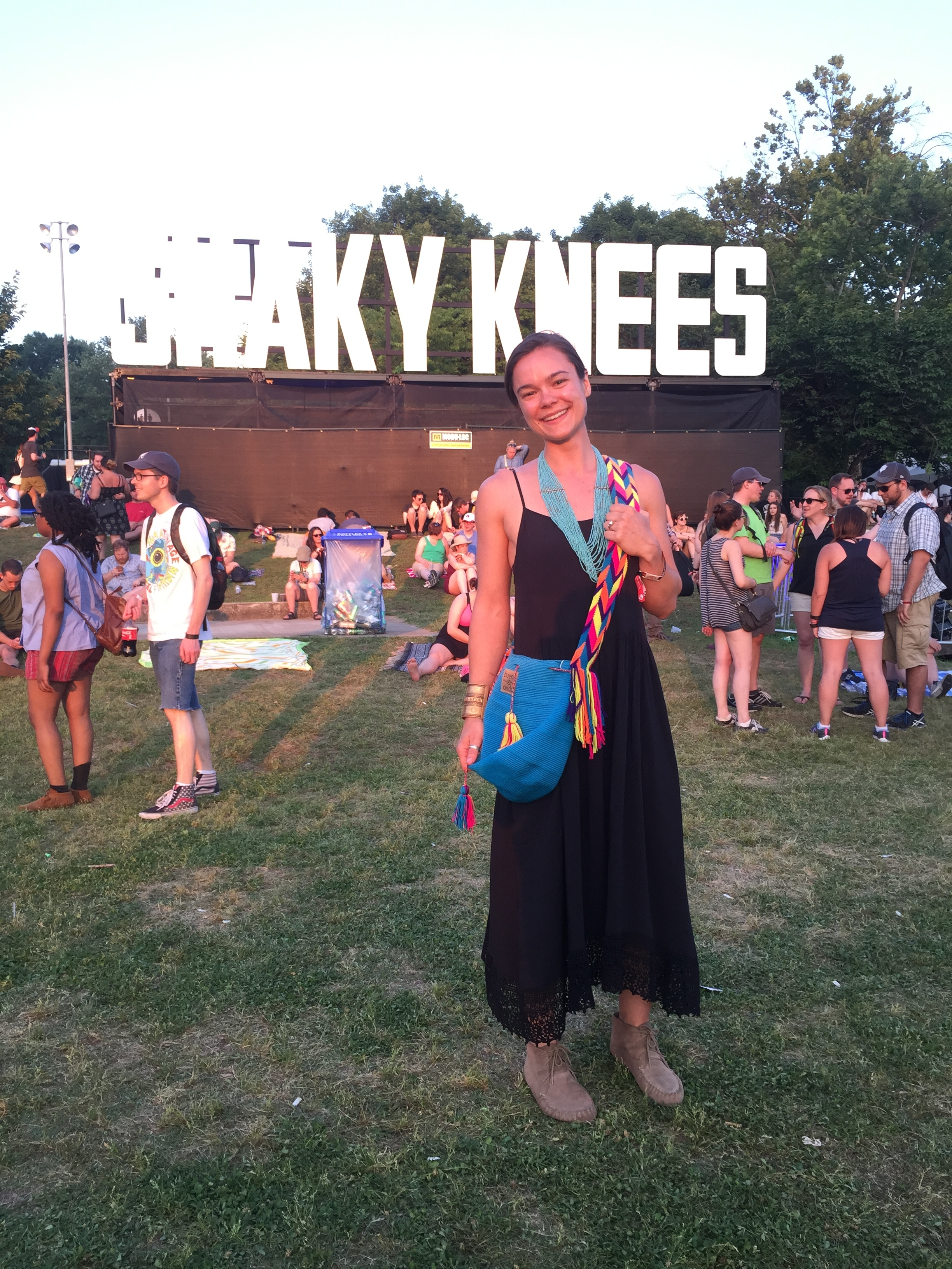 Hannah wins the Shaky Knees Giveaway