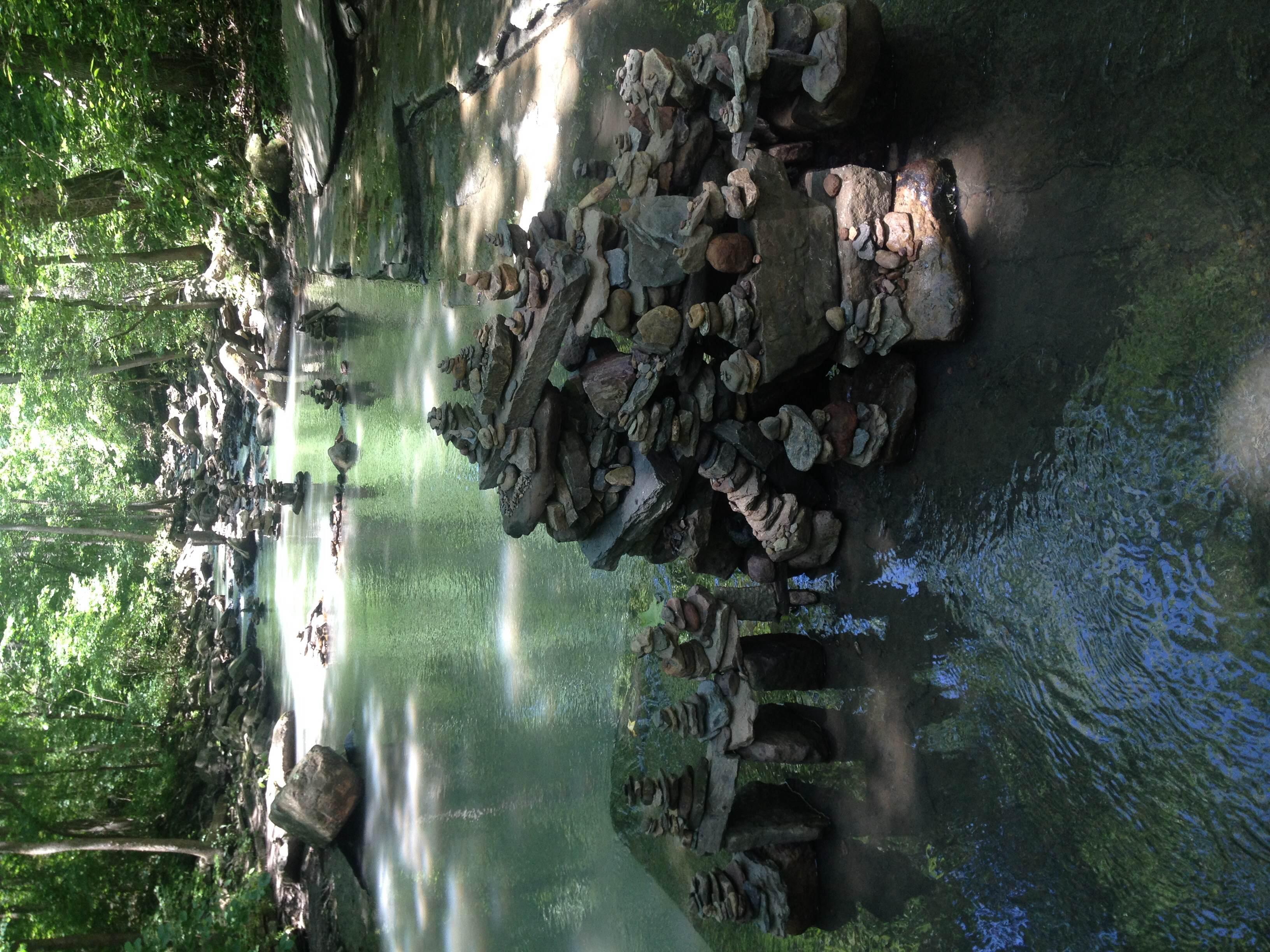 Wakarusa Waterfall at Mulberry Mountain Arkansas