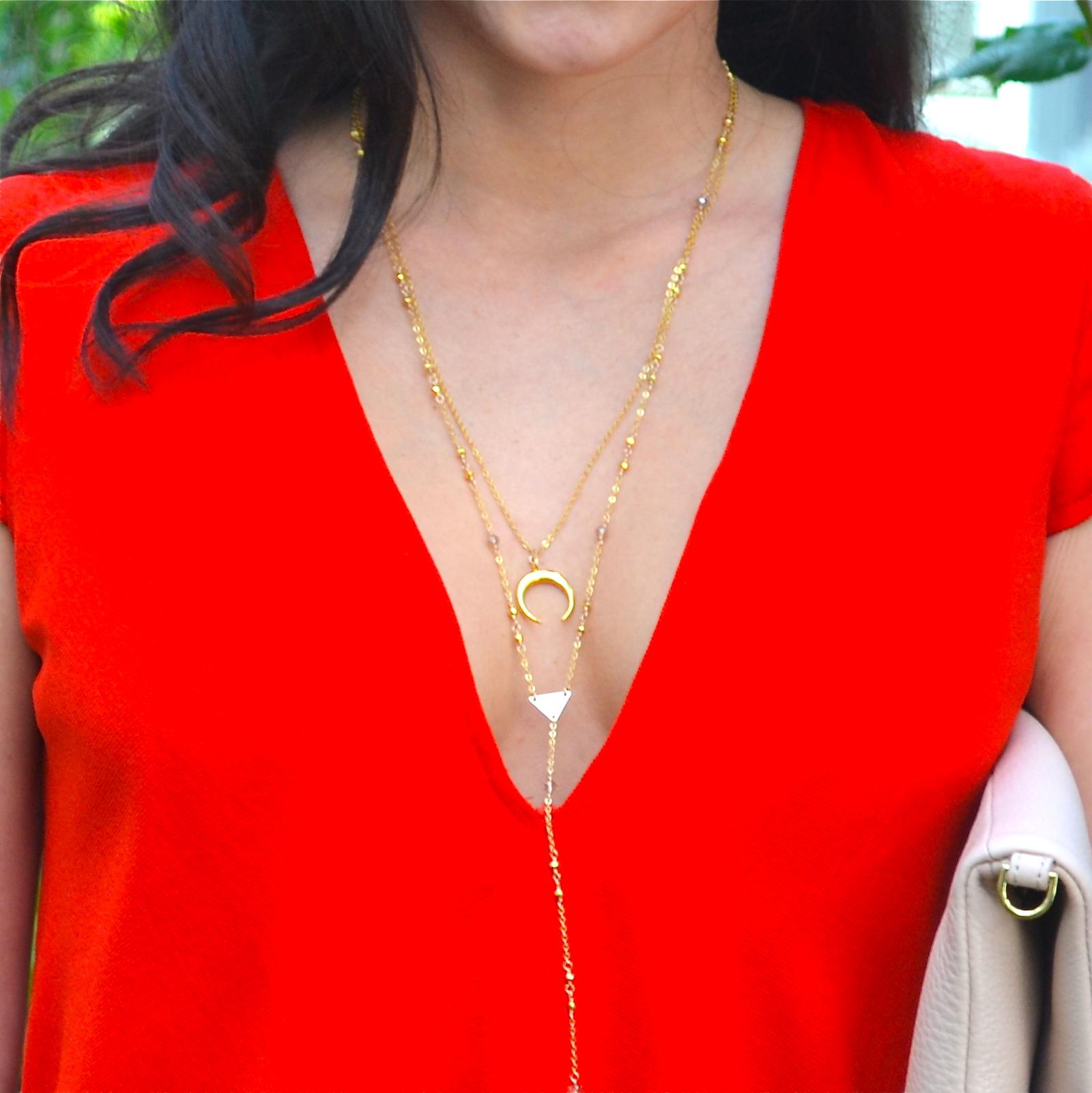 delicate gold Y necklace.JPG