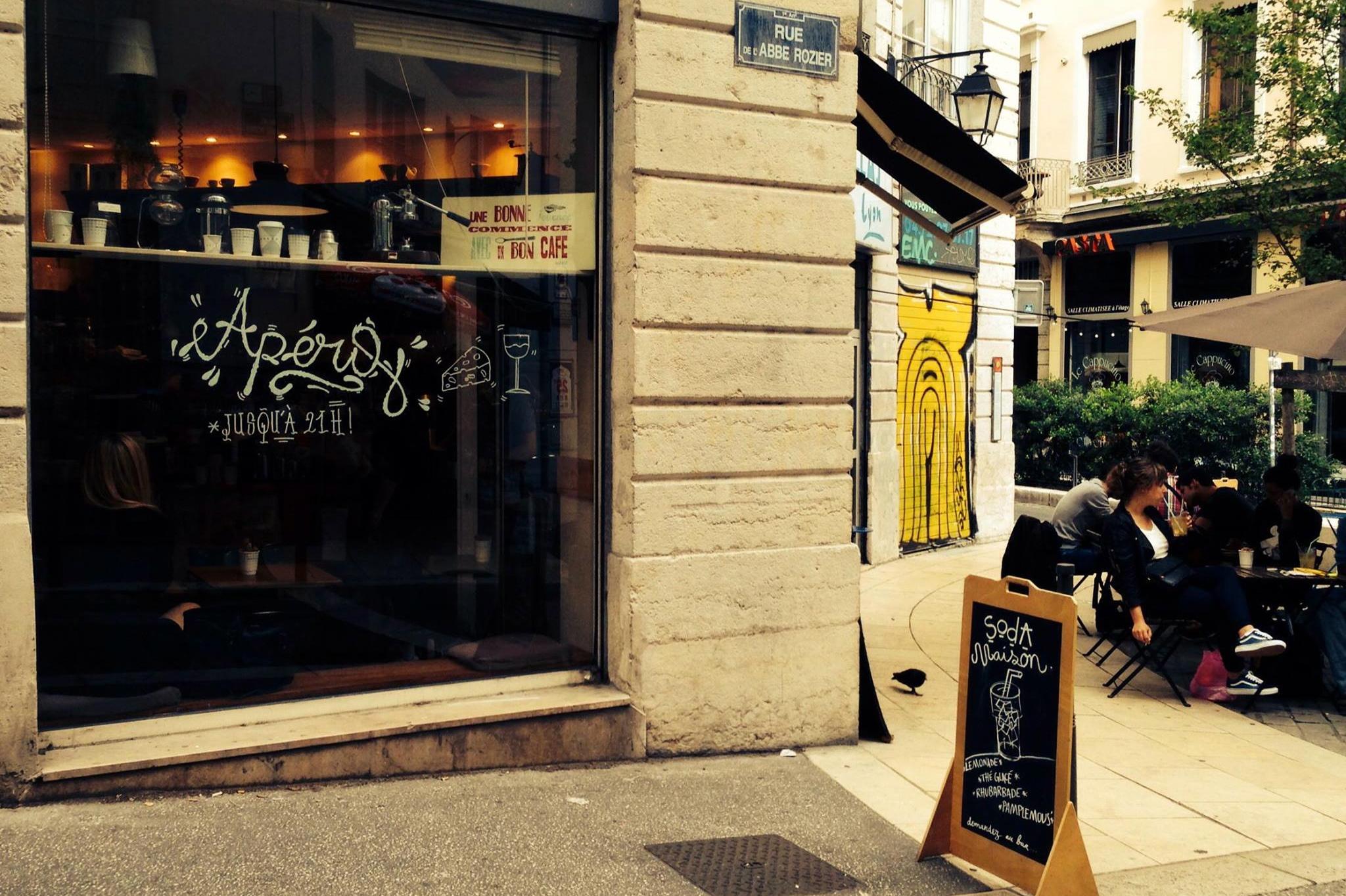 Cafe Mokxa Lyon, France
