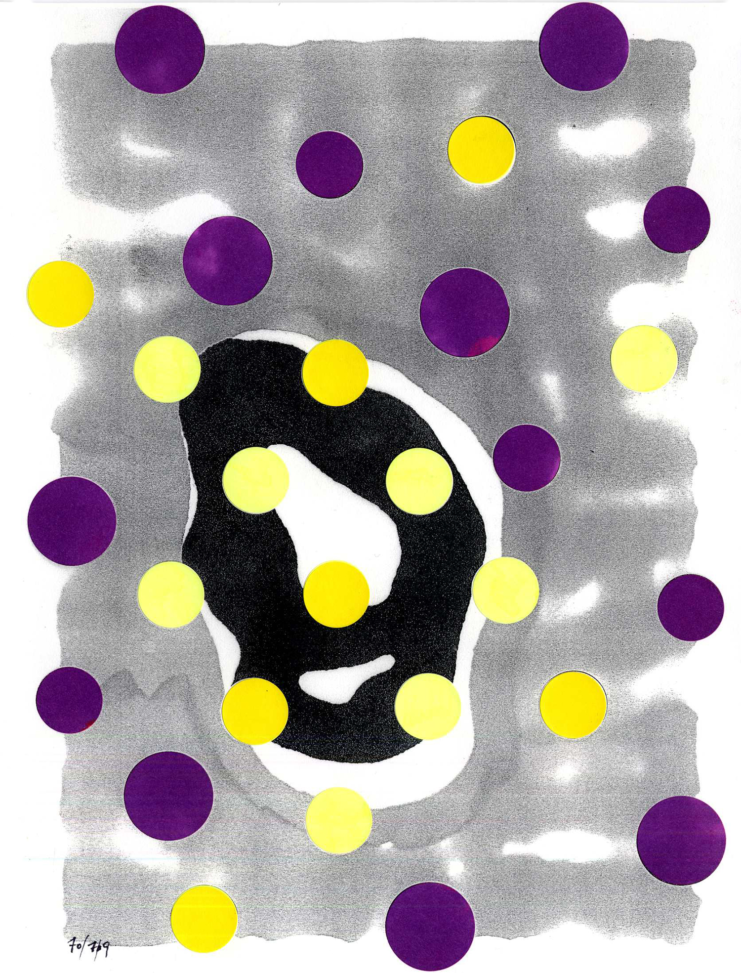 dwg09_002  , 2009, mixed media on paper, 12 x 9 in.