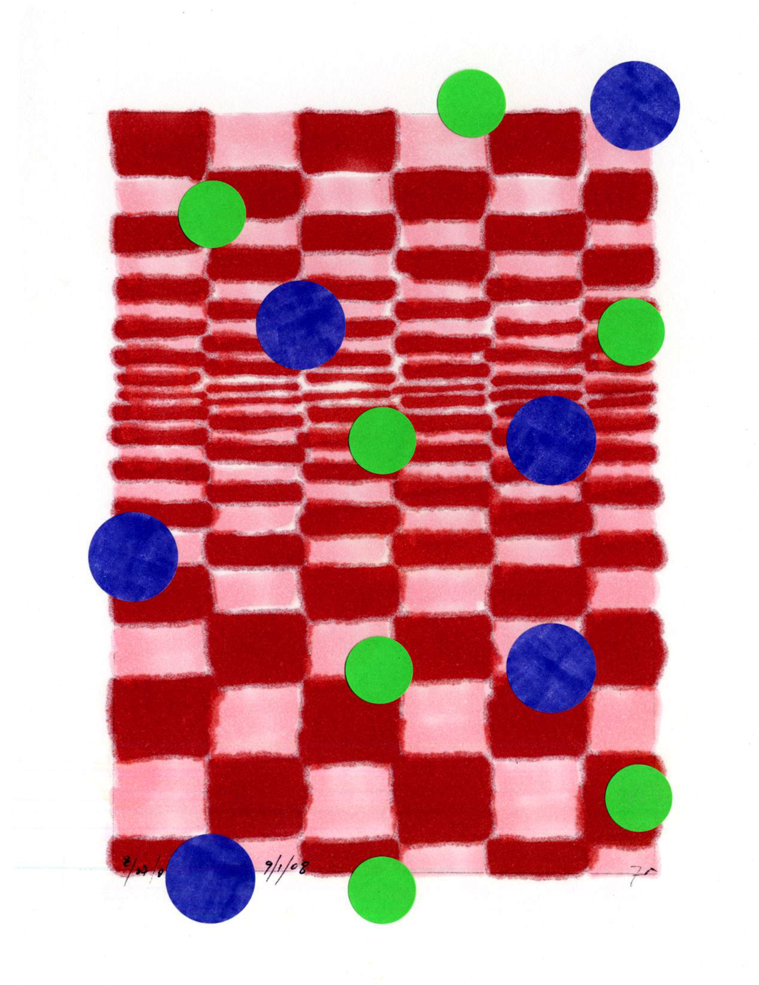 dwg08_37  , 2008, mixed media on paper, 12 x 9 in.