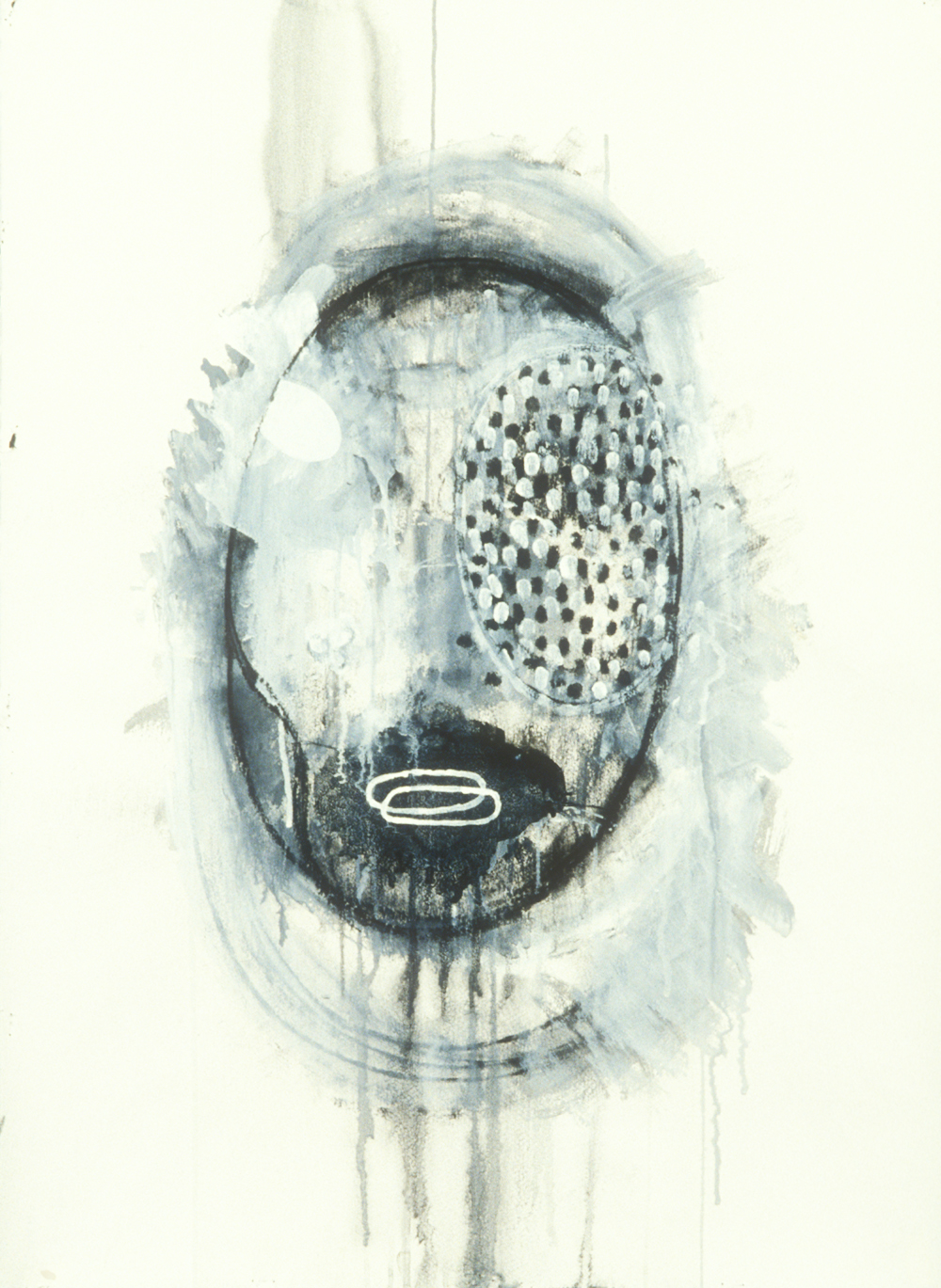 Elemental 29  , 1990, mixed media on paper, 29.5 x 21.5 in.