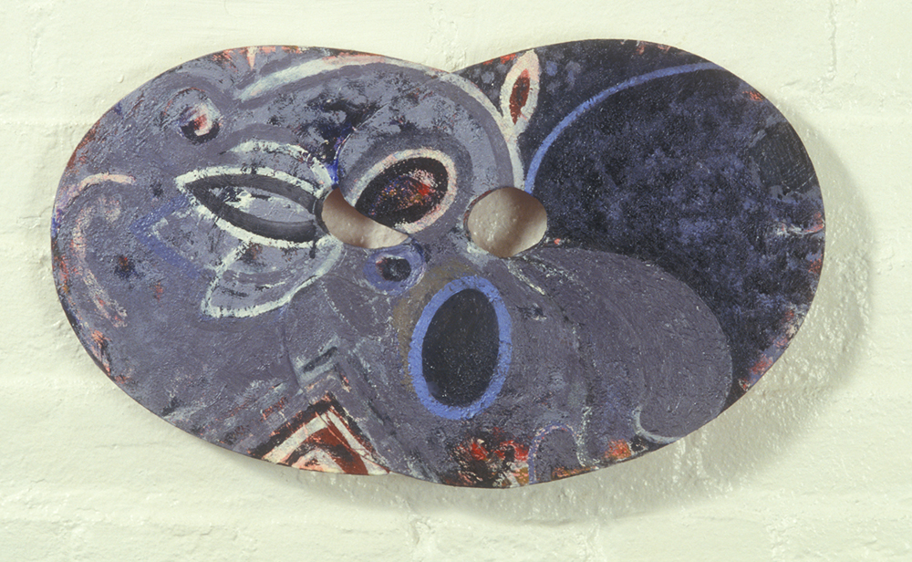 Palette 20  , 1988, oil and wax on wood, 12 x 18 in.