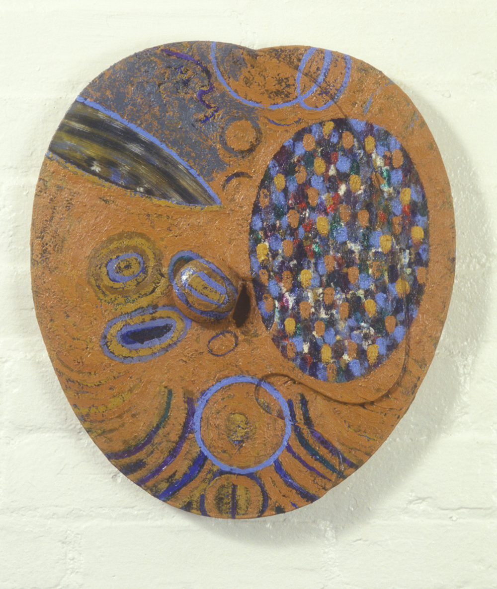 Palette 19  , 1988, oil and wax on wood, 16 x 13 in.