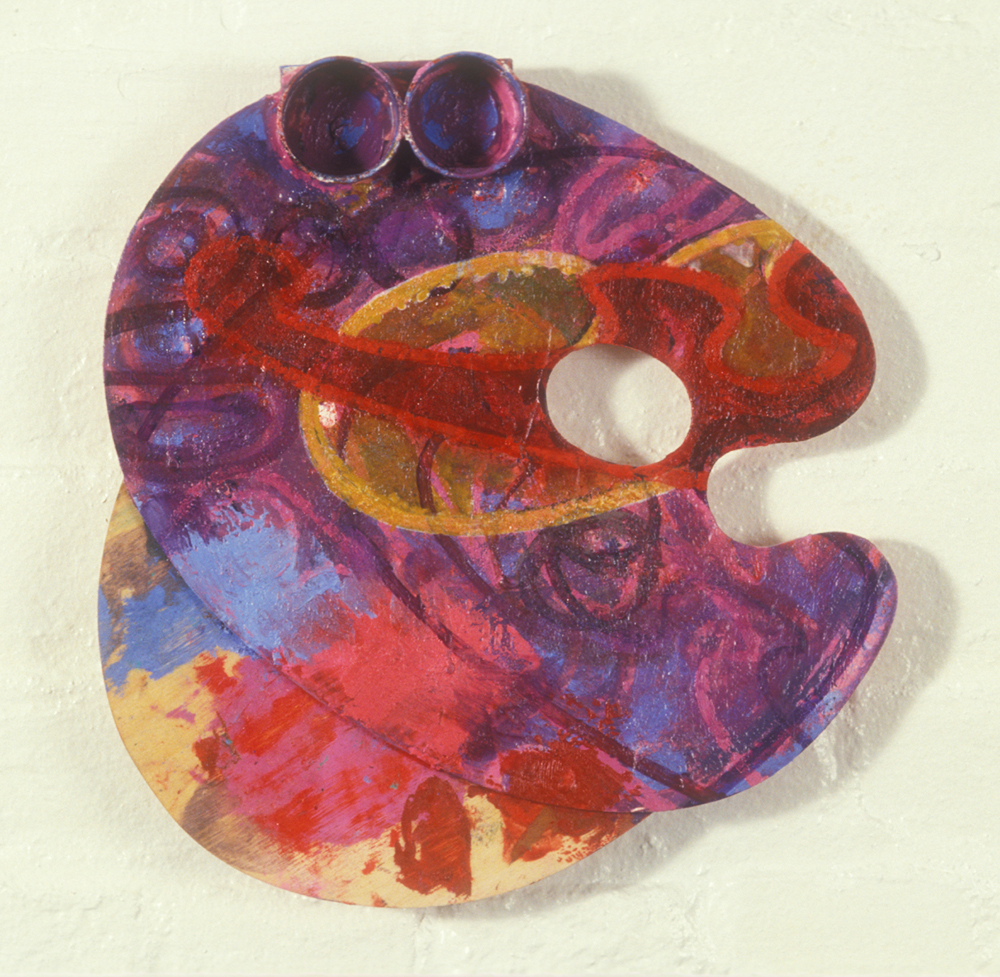 Palette 23  , 1988, oil and wax on wood, 24 x 20 in.