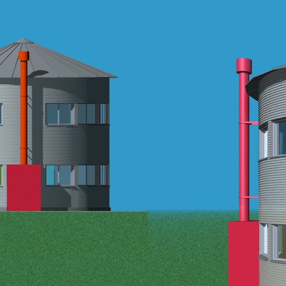 Silo Prototype House